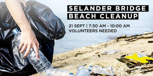 Selander Bridge Beach Cleanup