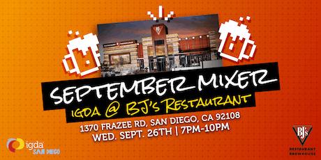 IGDA SD | September Mixer tickets