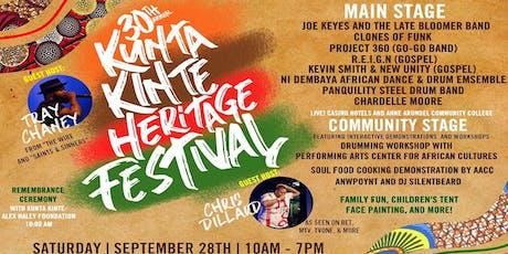 30th Annual Kunta Kinte Heritage Festival tickets