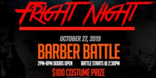 The Fade Factory and Da Barbershop presents Fright Night Barber Battle