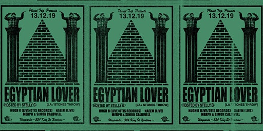 Egyptian Lover  - (Los Angels/ Stones Throw Records)