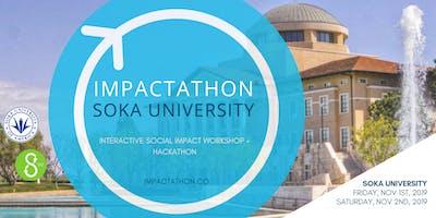 Impactathon® at Soka University: social impact workshop + hackathon