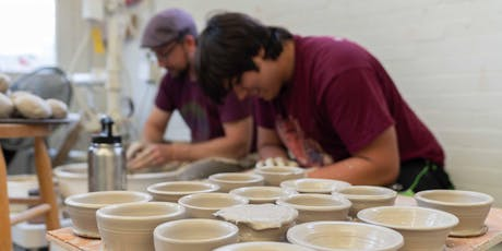 Adult Session 6: Beginning Pottery - SAT AM tickets
