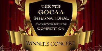 GOCAA  International Piano Competition winner concert tour ( LA)