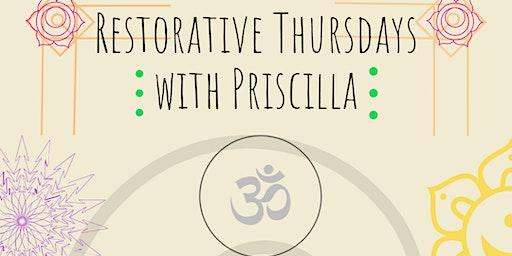 Restorative Yoga with Priscilla