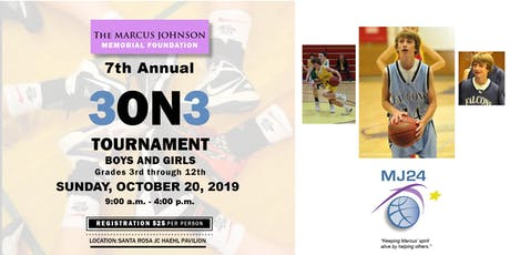 Marcus Johnson Memorial Foundation 7th Annual 3 on 3  Basketball Tournament tickets