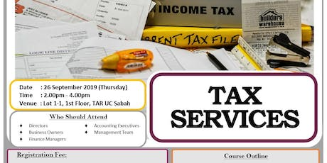 TAX SERVICES tickets