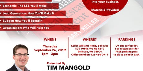 Take Your Business to the Next Level (MREA Four Models) with Tim Mangold tickets