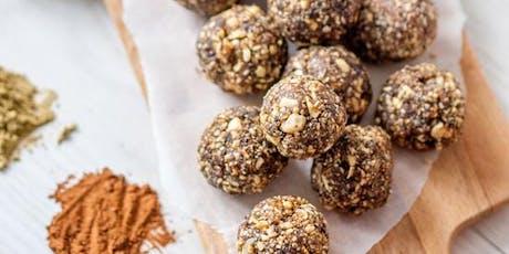 Protein Ball Workshop- Healthy Snack Prep! tickets