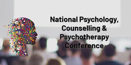 National Psychology, Counselling and Psychotherapy conference tickets