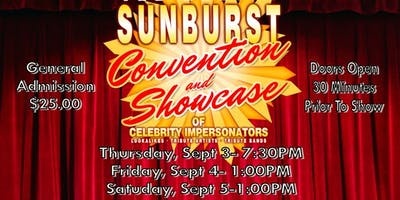 The Sunburst Showcase of Celebrity Impersonators