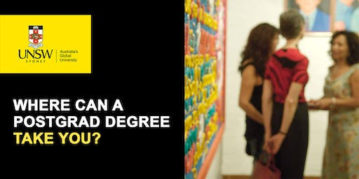 UNSW Art & Design Postgraduate Information Evening