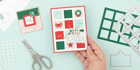 Christmas Craft Night- Card Buffet tickets