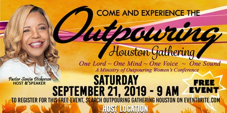 Outpouring Gathering - Houston tickets