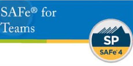 SAFe® For Teams 2 Days Training in Paris billets