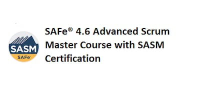 SAFe® 4.6 Advanced Scrum Master with SASM Certification 2 Days Training in Paris
