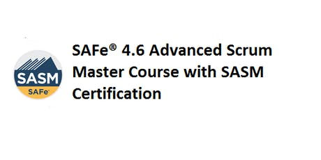 SAFe® 4.6 Advanced Scrum Master with SASM Certification 2 Days Training in Paris tickets
