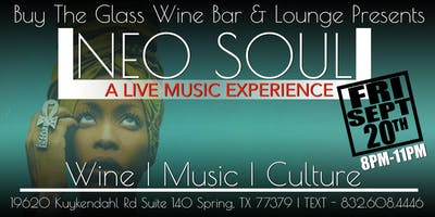 Live Music Friday's | Neo Soul Lounge North Houston