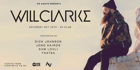 WE MOUVE Presents: Will Clarke (UK) tickets