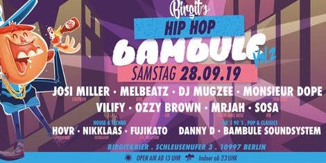 Birgit´s Hip Hop Bambule Vol. 2 (Open Air & Indoor)