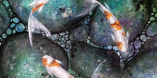 Paint with Me -Koi Pond
