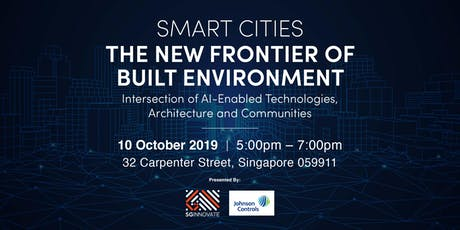 Smart Cities: The New Frontier of Built Environment tickets