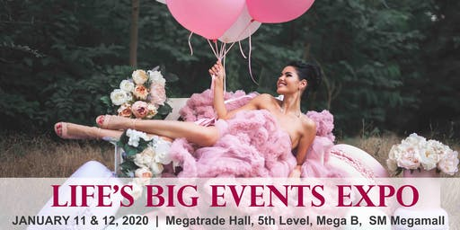 Life's Big Events Expo 2020