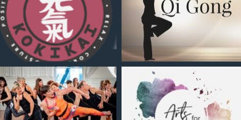 Martial Arts for Wellness - Explore the Arts of Qigong + Aikido + Nia