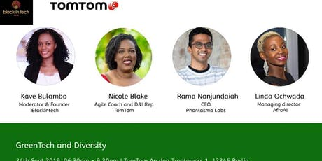 GreenTech and Diversity at TomTom tickets