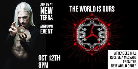 NEW TERRA - A Hyperian Event tickets