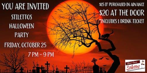 Stilettos Wine Bar Halloween Party