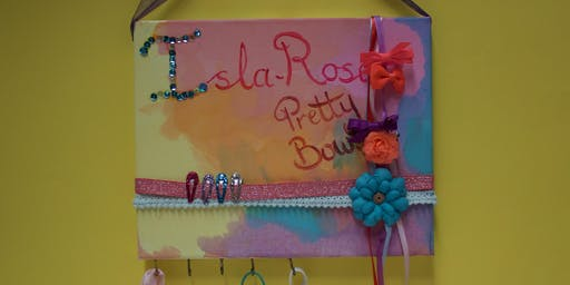 Hairbow Canvas / Look What I Made Canvas