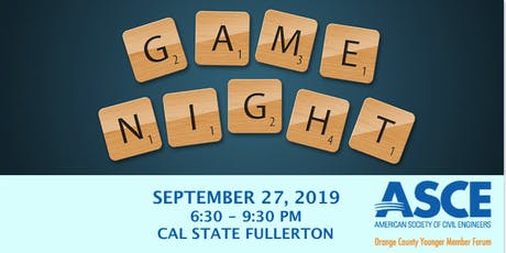 2019 University Outreach Game Night Social  tickets