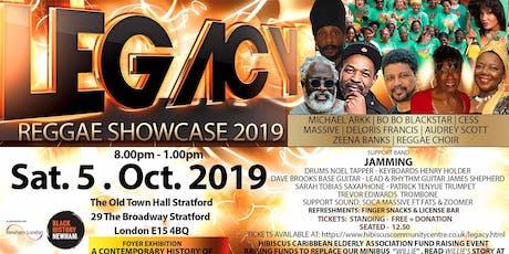 LEGACY Reggae Showcase 2019 tickets