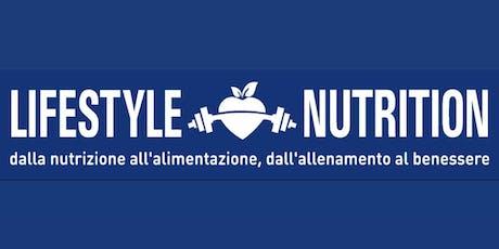 Inaugurazione lifestyle nutrition biglietti