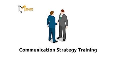 Communication Strategies 1 Day Virtual Live Training in Hamburg billets