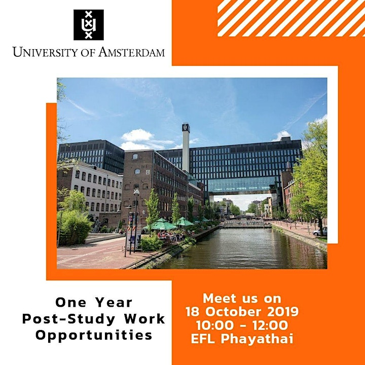 Study in Amsterdam 2020 image