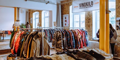 FREE TICKETS: Vintage Kilo Sale • Berlin • VinoKilo Tickets