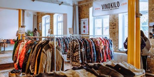 FREE TICKETS: Vintage Kilo Sale • Berlin • VinoKilo