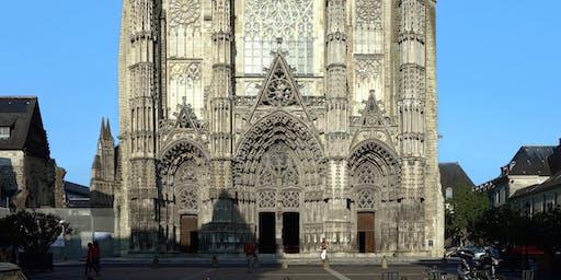 Les secrets Géobiologiques de la Cathédrale Saint Gatien samedi 19 Octobre 2019