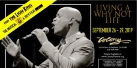 Living a Why Not Life tickets