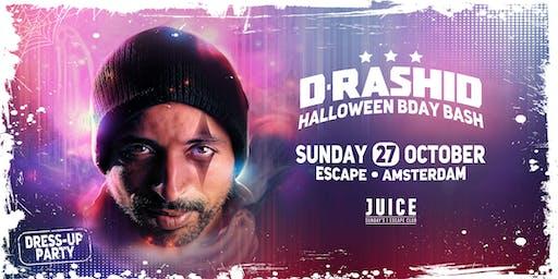 D-Rashid's Halloween B-Day Bash