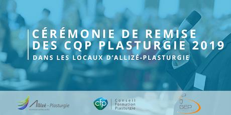 Cérémonie de remise des CQP 2019 : Le jeudi 7 novembre à 17h à Lyon billets