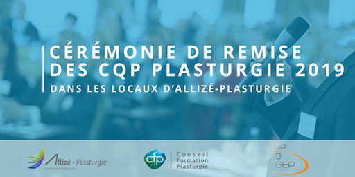 Cérémonie de remise des CQP 2019 : Le jeudi 7 novembre à 17h à Lyon