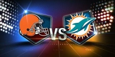 NFL Viewing Party at the TIKI BAR: DOLPHINS vs BROWNS
