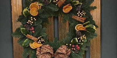 Christmas Door Wreath Making With Serendipity
