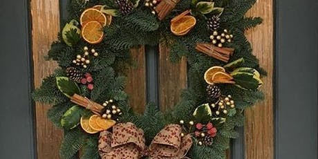 Christmas Door Wreath Making With Serendipity tickets