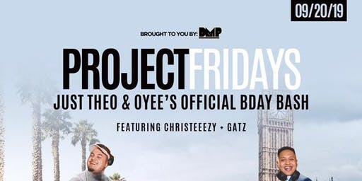 PROJECT FRIDAY at Avery Lounge, San Jose CA (Friday 09.20.19)
