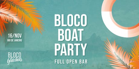Bloco Boat Party ingressos