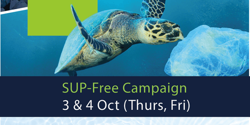 Single Use Plastic Free Campaign - Lunch & Learn (3 Oct)